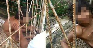 Kinh hoàng phát hiện người phụ nữ bị gia đình nhốt trong lồng 15 năm, không mảnh vải che thân