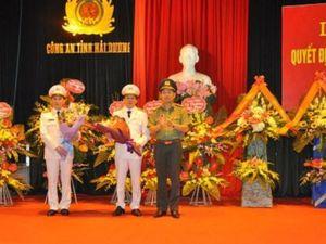 Hải Dương: Bổ nhiệm tân Phó Giám đốc Công an tỉnh