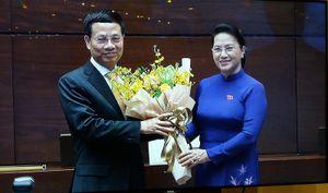 Quốc hội phê chuẩn ông Nguyễn Mạnh Hùng làm Bộ trưởng Bộ TT&TT