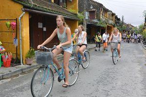 Hội An phát triển giao thông xe đạp