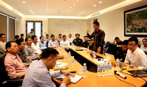 Huyện Cô Tô làm việc với Tập đoàn Sun Group về Quy hoạch tổng thể phát triển du lịch, dịch vụ