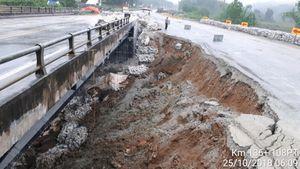 Lại tạm dừng lưu thông qua cầu Ngòi Thủ trên cao tốc Nội Bài - Lào Cai
