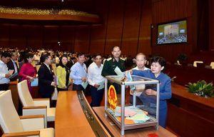 Bà Nguyễn Thị Kim Ngân đứng đầu trong cả 3 lần lấy phiếu tín nhiệm