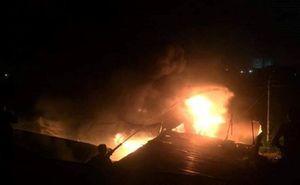 Nghệ An: Cháy liên tiếp trong đêm, thiệt hại nhiều tỉ đồng