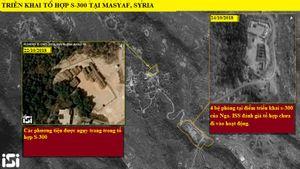 Hình ảnh vệ tinh Israel hé lộ S-300 chưa 'bày binh bố trận trực chiến' ở Syria
