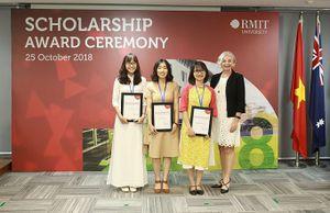 Đại học RMIT trao tặng 32 tỷ đồng học bổng năm 2018