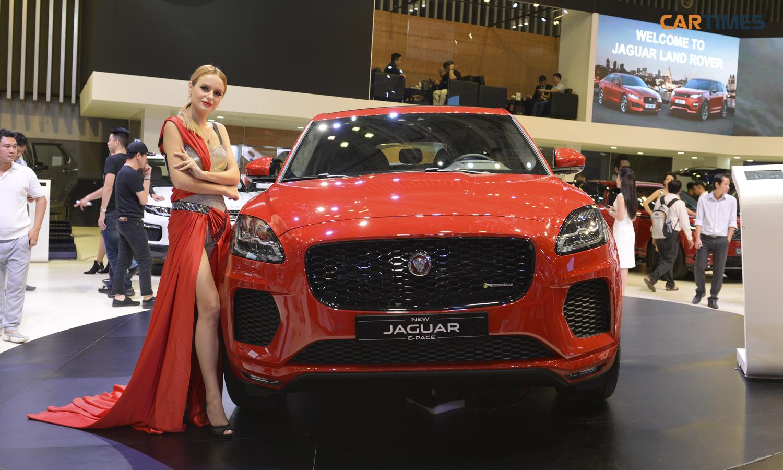 Jaguar Land Rover ra mắt 2 xe 'hot' tại triển lãm ô tô Việt Nam 2018