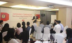 Viện Đào tạo Quốc tế (Học viện Tài chính) khai giảng lớp thạc sỹ Tài chính và đầu tư
