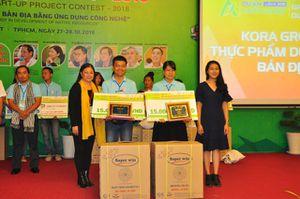 Đồng Tháp có 3 dự án đạt giải tại cuộc thi Dự án khởi nghiệp lần 4