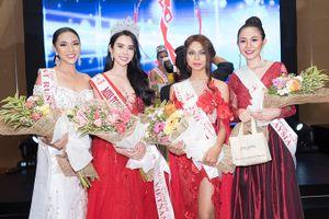 Huỳnh Vy - Cô gái quê Đồng Tháp đăng quang Hoa hậu Du lịch Thế giới
