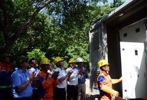 Đảo Rều chính thức có điện lưới quốc gia