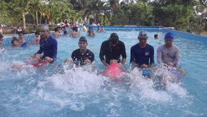Phổ cập bơi theo kỹ năng cho 100% HS phổ thông vùng sông nước