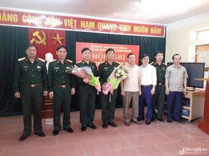 Thanh Chương có tân Chỉ huy trưởng Ban CHQS huyện