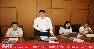 Đoàn Đại biểu Quốc hội tỉnh Hà Tĩnh góp ý về Hiệp định CPTPP