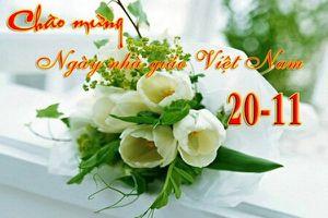 Sở GD&ĐT TP.HCM sẽ không nhận hoa và quà dịp 20/11