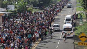 Mỹ quyết tâm ngăn chặn dòng người di cư