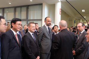 Thủ tướng Edouard Philippe tham dự khánh thành cơ sở mới của trường Alexandre Yersin