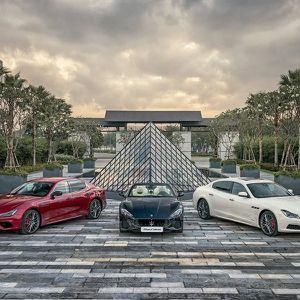 Ba xe sang Maserati 2018 'độc, điệu, đỏm' giá hơn 40 tỷ bất ngờ xuất hiện