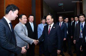 Thủ tướng tiếp một số tập đoàn tài chính, xây dựng Trung Quốc