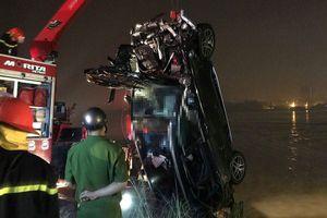Danh tính nạn nhân thứ 2 trong xe Mercedes rơi xuống sông Hồng