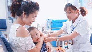Tiêm bổ sung vắc xin sởi - rubella cho trẻ dưới 5 tuổi