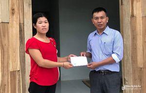 Hoạt động hỗ trợ người nghèo ở Nghĩa Đàn