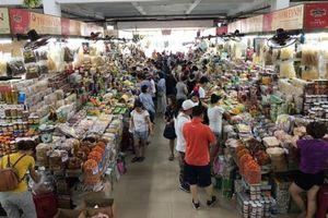 Đà Nẵng dán tem QR Code một số thực phẩm tại chợ Hàn