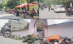 Tràn lan vi phạm trật tự đô thị ở phường Thịnh Quang, Phương Mai