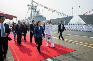 Bà Thái Anh Văn 'thách thức' Trung Quốc: 'Đài Loan sẽ không lùi bước dù chỉ vài cm'
