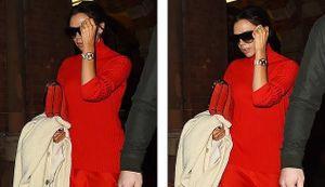 Victoria Beckham sành điệu ra phố với đầm đỏ rực sau ồn ào hôn nhân
