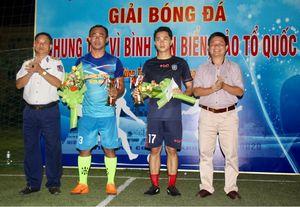 6 đội dự giải bóng đá 'Chung tay vì bình yên biển, đảo Tổ quốc'