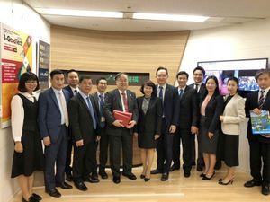 Đoàn công tác tỉnh Quảng Ninh làm việc tại Nhật Bản