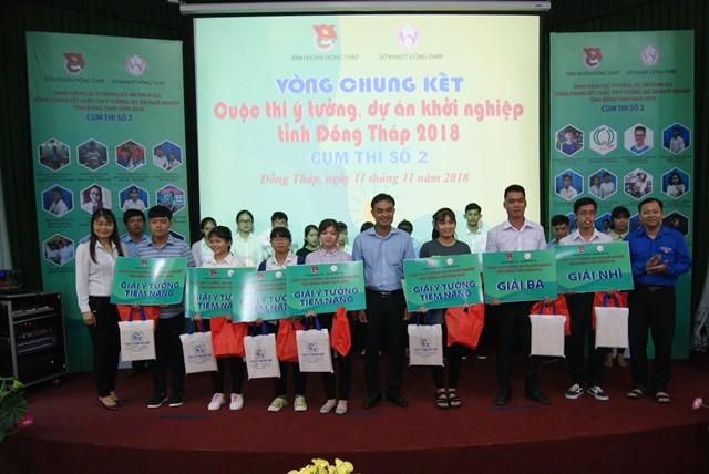 Chung kết cuộc thi ý tưởng, dự án khởi nghiệp tỉnh Đồng Tháp năm 2018 cụm thi số 2