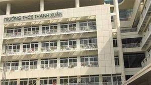 Thu hai loại học phí, trường THCS Thanh Xuân giải thích thật