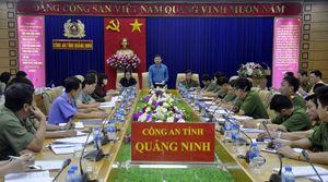 Ban Pháp chế HĐND tỉnh giám sát tại Công an tỉnh