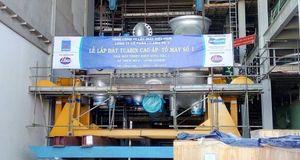 Lắp đặt thành công Tuabin cao áp và trung áp của tổ máy số 1 Nhà máy Nhiệt điện Sông Hậu 1
