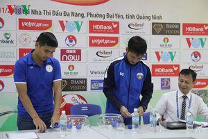 Bốc thăm phân lịch thi đấu giải Futsal HDBank cúp Quốc gia 2018