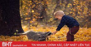 Ảnh đẹp về tình bạn giữa trẻ em và động vật