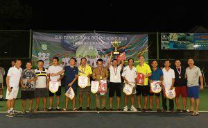 Giải quần vợt đồng đội cúp Happy 2018