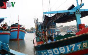 Ảnh hưởng áp thấp nhiệt đới, một số nơi ở Ninh Thuận ngập úng cục bộ