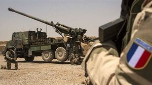 Siêu pháo Caesar không nhìn thấy mục tiêu tại Syria