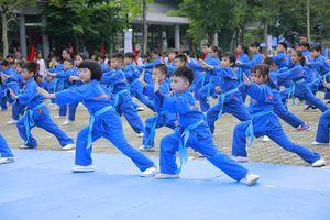 Đồng diễn võ thuật với 7.000 người xác lập kỷ lục Việt Nam