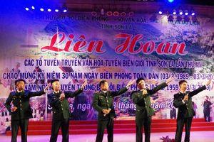 Liên hoan tuyên truyền văn hóa tuyến biên giới Sơn La