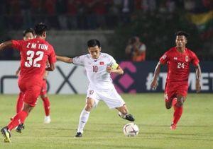 Bảng A AFF Cup 2018: Bị từ chối bàn thắng, ĐT Việt Nam hòa đáng tiếc trước ĐT Myanmar