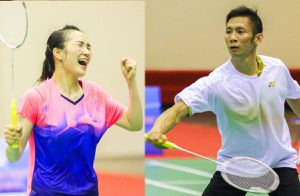 Vợ chồng Nguyễn Tiến Minh - Vũ Thị Trang cùng giành HCV cầu lông trong tối 20-11