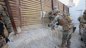 Lầu Năm Góc gây tranh cãi khi định chi 72 triệu USD triển khai quân đội dọc biên giới