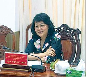 Phó Chủ tịch nướclàm việc với TP Cần Thơ
