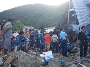 Tìm thấy thi thể cuối cùng trong vụ sạt lở đất ở thôn Thành Phát