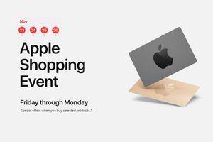 Black Friday 2018: Apple tặng quà gì cho khách hàng mua iPhone, iPad?