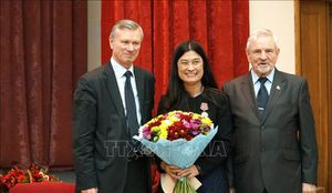 Ông V.Buianov giữ chức Chủ tịch Hội Hữu nghị Nga-Việt nhiệm kỳ 2018-2023